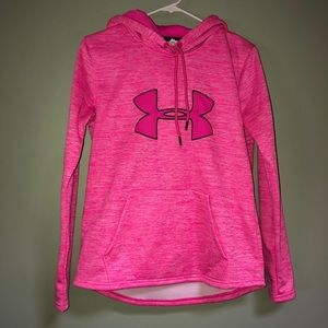 Hot pink Under Armour hoodie💓